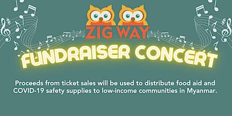 ZigWay Fundraiser Concert tickets