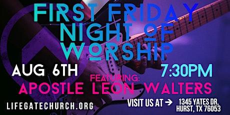 NIGHT OF WORSHIP tickets