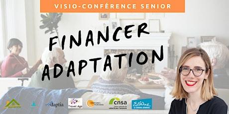 Visio-conférence senior  GRATUITE - Financer l'adaptation de son logement billets