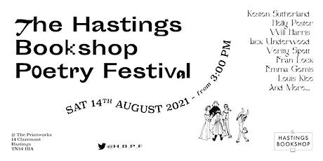Hastings Bookshop Poetry Festival tickets