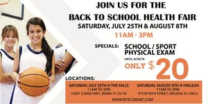 Get Back to School Ready at RiteCare Medical Center at ...