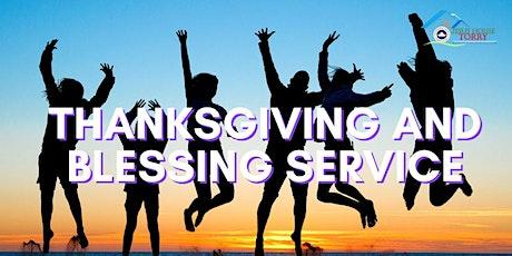 Sunday Thanksgiving Service 03/10/21 tickets