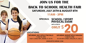 Get Back to School Ready at RiteCare Medical Center in ...