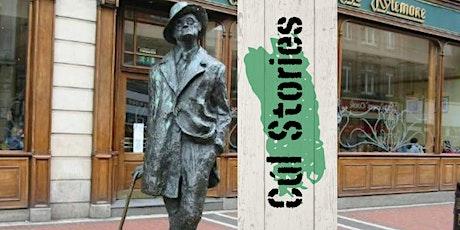 A walk through the Dublin of 1904 with James Joyce's Ulysses tickets