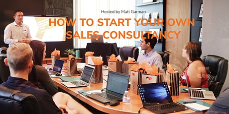 Find out how to start you own successful Sales Consultancy tickets