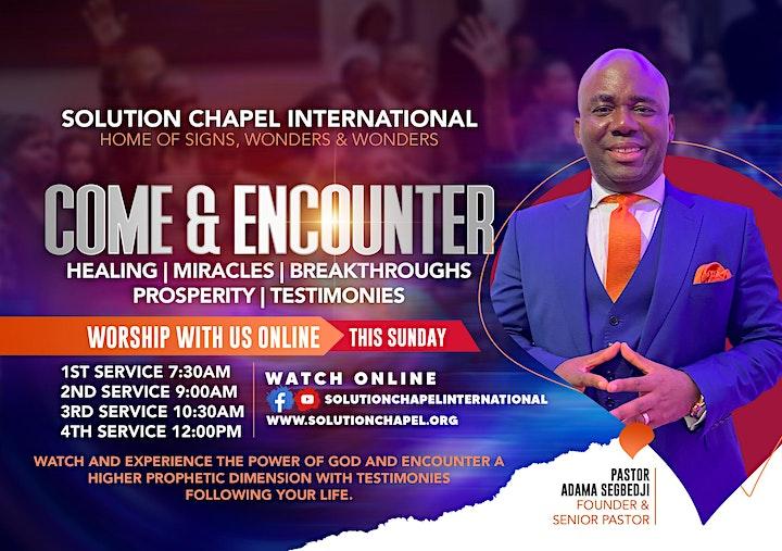 Sunday 2nd Service on ZOOM image