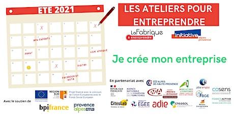 PERMANENCE BGE Provence Alpes Méditerranée  - ACCOMPAGNER la création billets