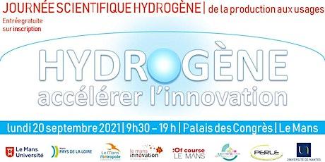 Journée Scientifique Hydrogène - De la production aux usages billets