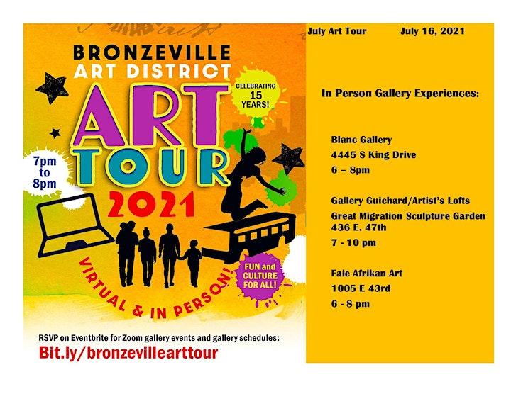 Bronzeville Art District Virtual & In Person Art Tour 2021! image