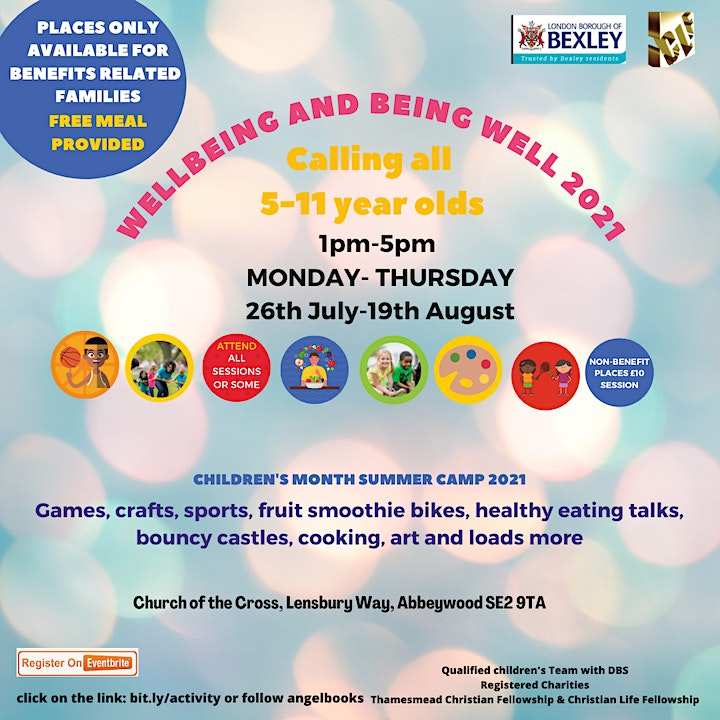 Wellbeing and Being Well Sports, fitness, games, craft cooking & loads more image