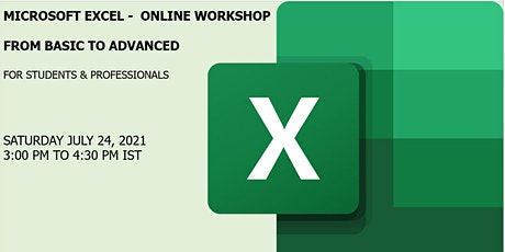 Microsoft Excel Masterclass - Basic to Advanced Level tickets