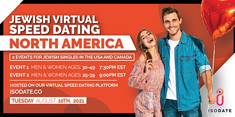Isodate's North American Jewish Virtual Speed Dating tickets