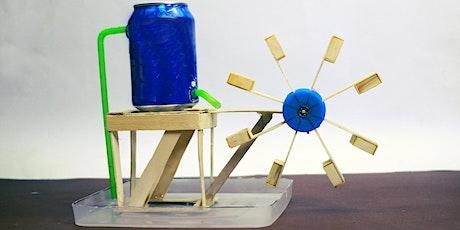 Le pouvoir des éléments: construis ton propre moulin à eau billets