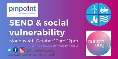 SEND & bullying, friendships & social vulnerability tickets