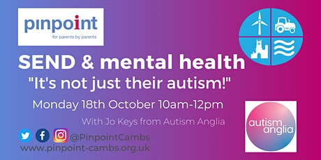"""SEND & Mental Health - """"It's not just their autism!"""" tickets"""