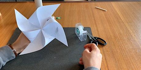 Le pouvoir des éléments: construis ta propre éolienne billets