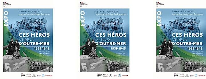 """Image pour Visite de l'exposition – """"Ces héros venus d'Outre-mer 1939-1945"""""""
