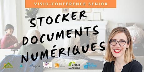 Visio-conférence senior GRATUITE - Stocker ses documents numériques billets