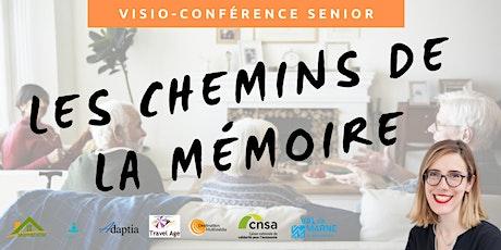 Visio-conférence senior GRATUITE - Les chemins de la mémoire billets