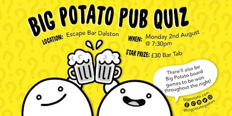 Big Potato Pub Quiz! tickets