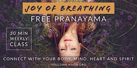 Pranayama △ Joy of Breathing boletos