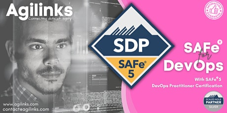 SAFe DevOps (Online/Zoom) Aug 26-27, Thu-Fri, California Time (PST) tickets