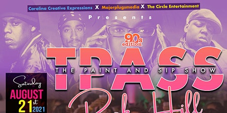 The Paint & Sip Show (90s Edition)  Rock Hill, South Carolina tickets