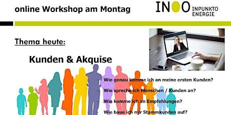 live Webinar - Kunden & Akquise (Für Partner kostenfrei) biglietti