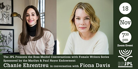 The Boss Maidel Conversations with Female Writers Series tickets
