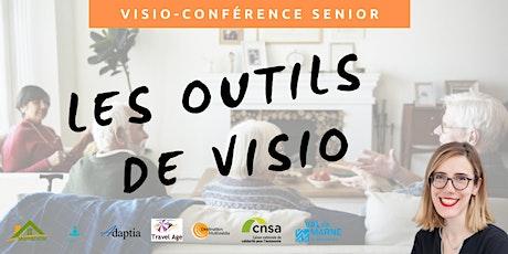 Visio-conférence senior  GRATUITE - Les outils de Visio-conférence billets