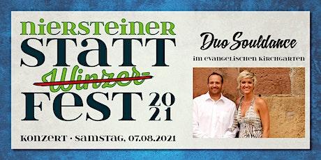 STATT(Winzer)FEST-Konzert mit Duo Souldance Tickets