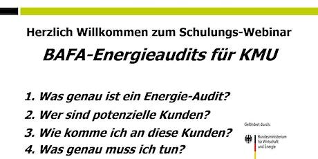 live Webinar Energie-Audit (Für Partner kostenfrei) Tickets