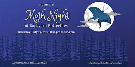 3rd Annual Moth Night tickets