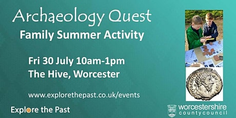 Archaeology Quest - The Hive, Worcester tickets