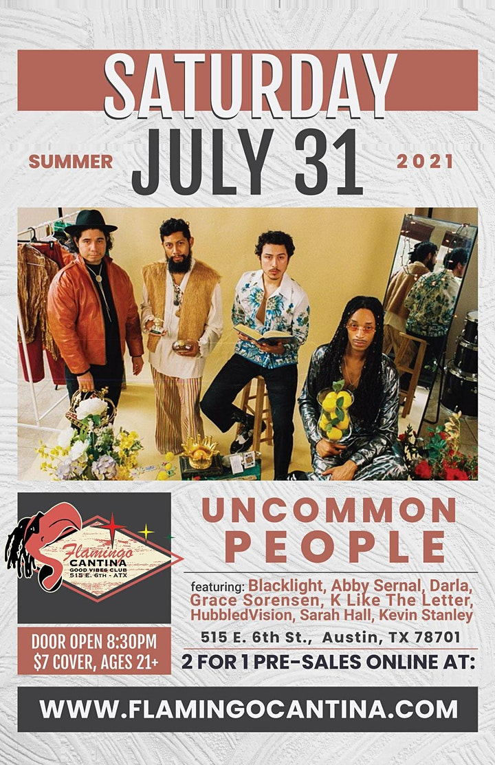 Uncommon People & friends! image
