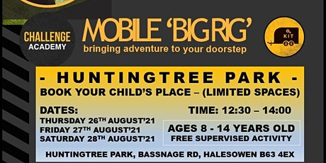 MOBILE 'BIG RIG' (FREE EVENT) - HUNTINGTREE PARK tickets