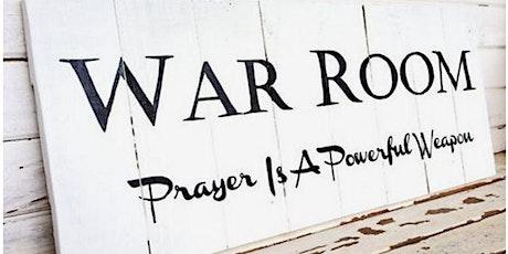 WAR ROOM Intercessory Prayer tickets