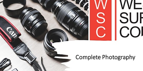 Complete Photography (10 week course) tickets