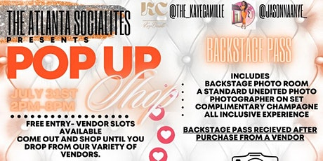 The Socialites Present: The Pop Up Shop tickets