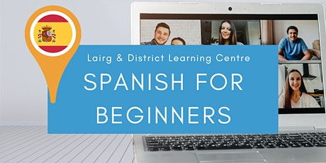 Spanish for Beginners 8 Week Course tickets