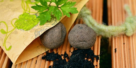 Making Seed Bombs Urmston Library tickets