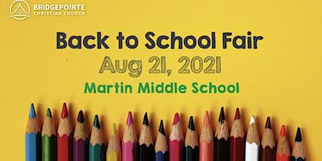 Back to School Fair:  Kent Heights/Myron J./Waddington/Whiteknact tickets