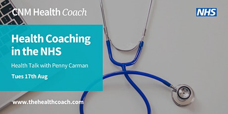 Health Coaching in the NHS with Penny Carman tickets