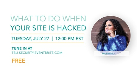 What To Do When Your Website Gets Hacked tickets
