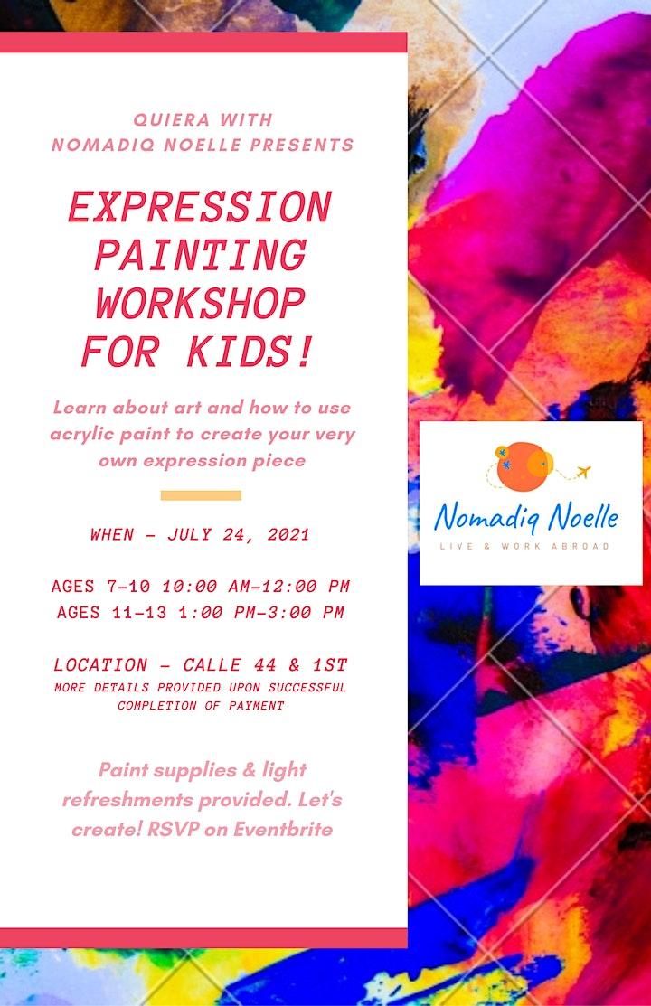 Art Workshop-July 24th image