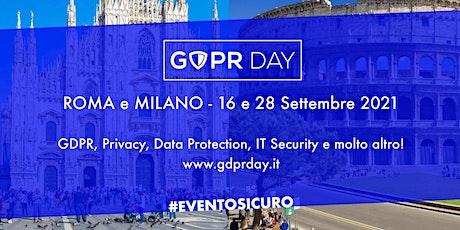 GDPR Day 2021 biglietti