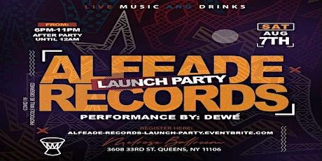 AlfeAde Records Launch Livestream tickets