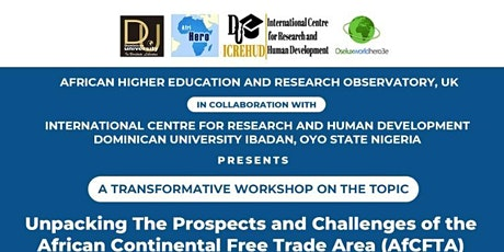 The Prospects and Challenges of the African Continental Free Trade Area tickets