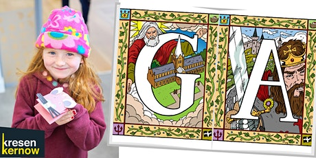 Illustrating Initials - family learning workshops tickets