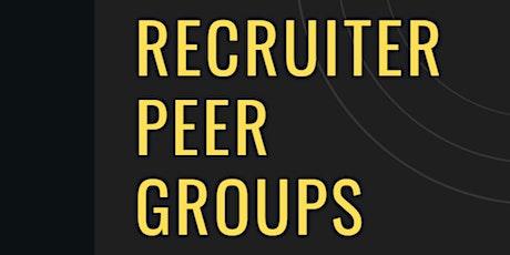 Recruiter Peer Group - August 3, 2021P tickets